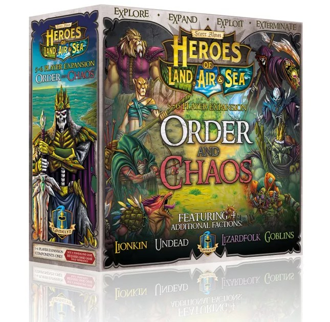 Image result for heroes of land, air and sea order and chaos