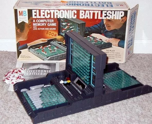 Electronic Battleship Board Game BoardGameGeek