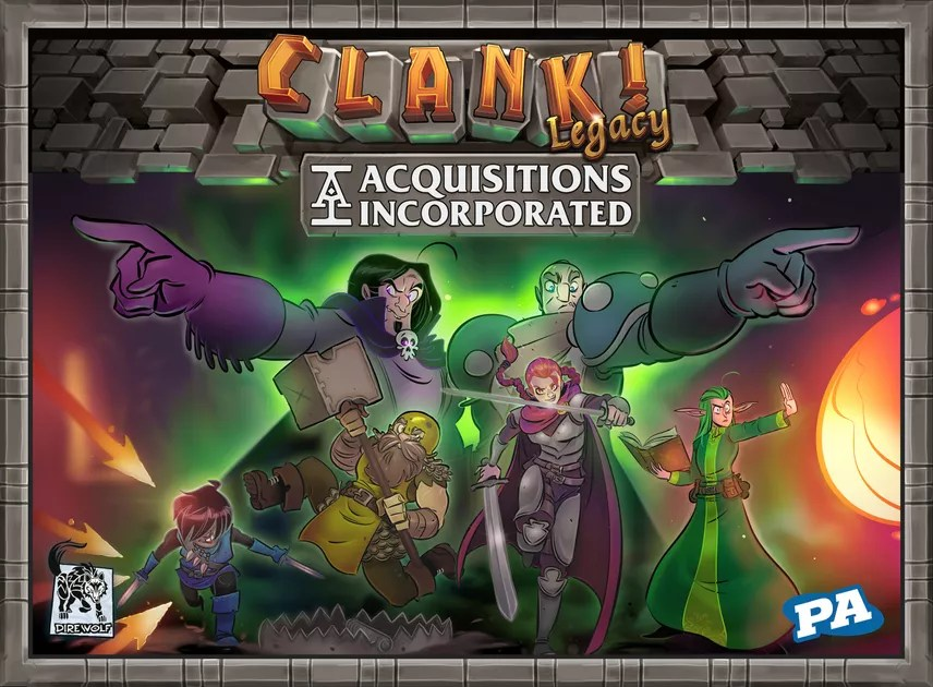 Clank! Legacy: Acquisitions Incorporated | Board Game | BoardGameGeek