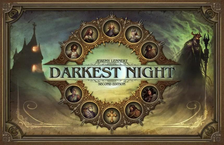 Image result for Darkest Night 2E board game