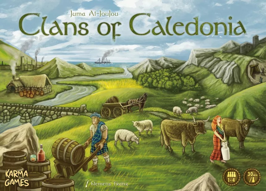 Image result for Clans of Caledonia board game