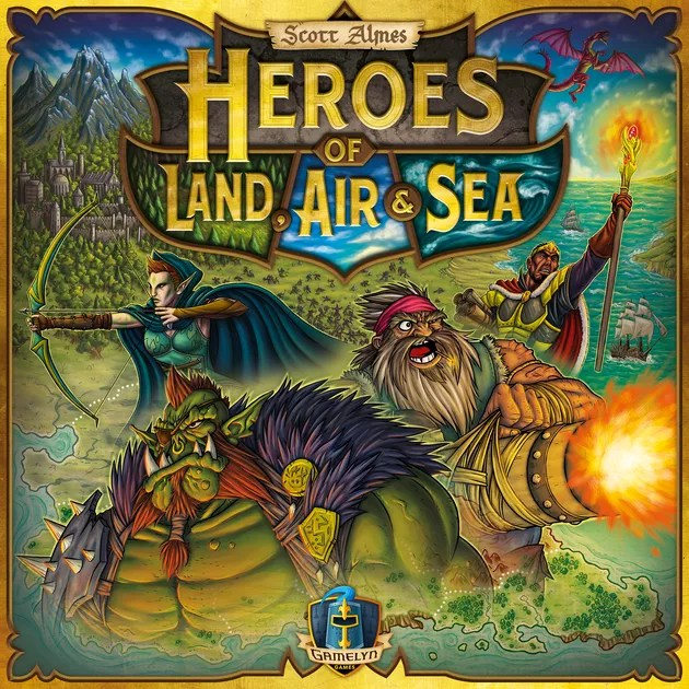 Image result for heroes of land, air and sea board game