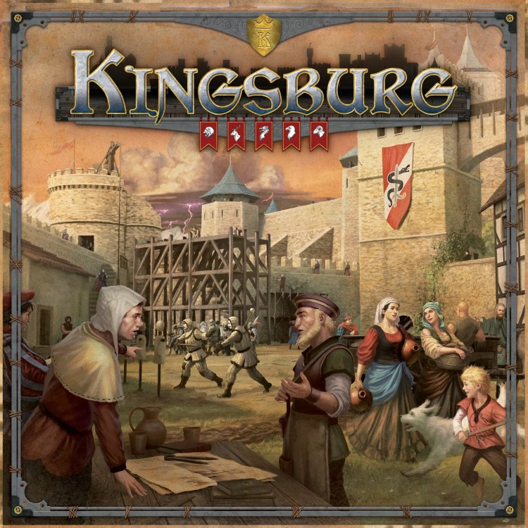 Kingsburg Segunda Edición - juego de mesa - Maldito Games