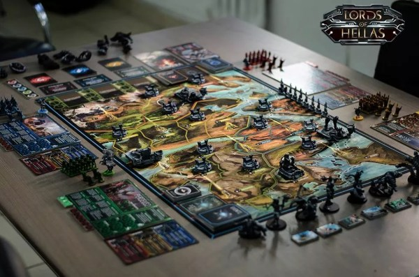 Lords of Hellas Brettspiel
