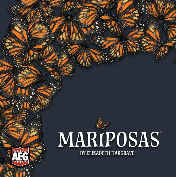 mariposas, juego de mesa, bgg, portada