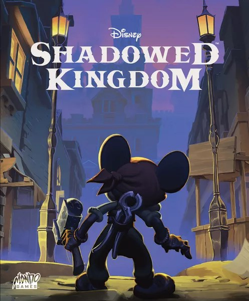 Disney Shadowed Kingdom, Mondo Games, 2020 — front cover (image provided by the publisher)