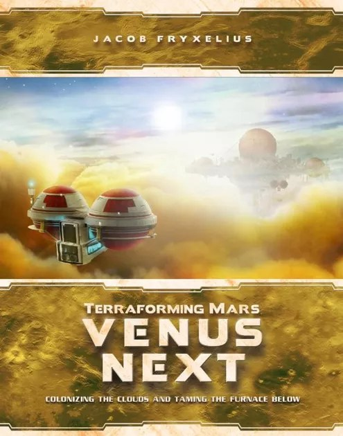 Image result for Terraforming Mars: Venus Next