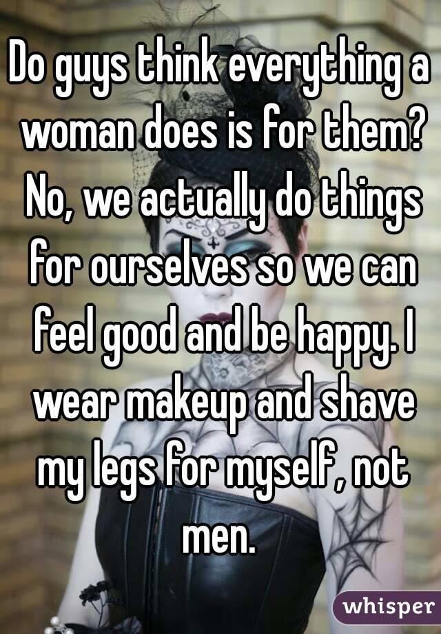 Purpose Of Make-Up