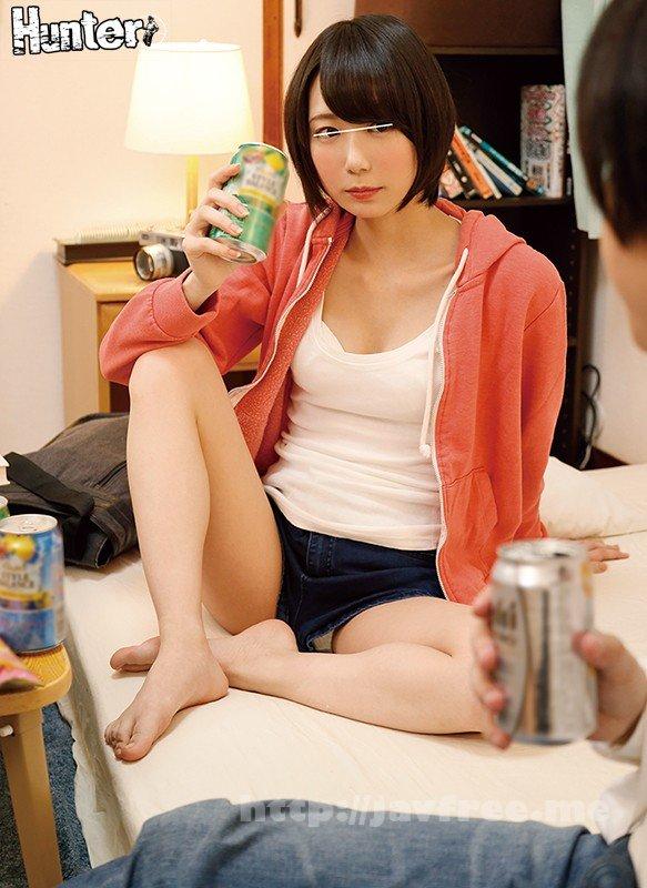 [HD][HUNTA-893] 「お前、どんだけエロいんだよ…!?」酔うとヨダレが止まらないほど発情!ボクしか知らない色気0なバイト女子のエロ過ぎる本当の姿!