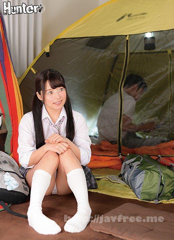 [HD][HUNTA-994] 「私も一緒に泊まりたい!」学校がイヤになって自分の部屋でソロキャンプ。ボクを心配して来た幼馴染と狭いテントの中で2人きり密着添い寝!!