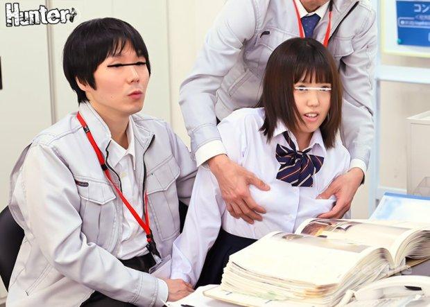 [HD][HUNTB-082] 本日実習生として来て頂いたのは「接客業」や「介護士」や「キャリアウーマン」になるのが目標の、笑顔がとっても素敵な女子生徒さんたちです。最初…