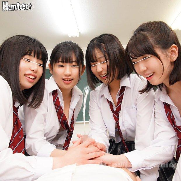 [HD][HUNTB-098] ヤリマン女子たちがこっそり作るハメ撮り卒アル制作に参加させられたボク。校内のあらゆる場所でハメ撮り記念撮影。そのチ○ポ役に大抜擢されたボク。