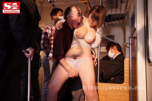 [HD][SSNI-185] Jカップ女子大生 強・制・連・結 揉まれ続けて爆乳でイカされる満員痴漢車両 松本菜奈実