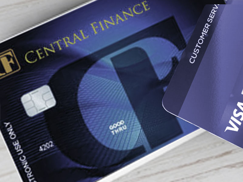 Central Finance Debit card