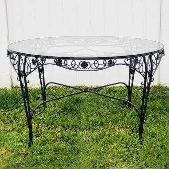 identify vintage wrought iron furniture