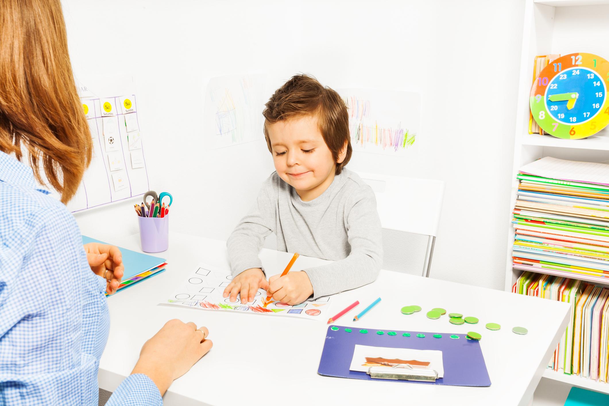Preschool Activities For Children With Autism