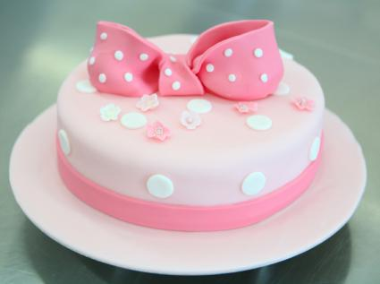 Cake With Rolled Fondant