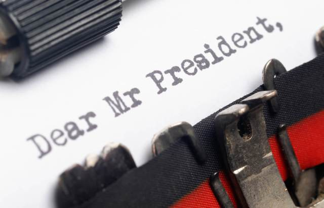 How to Write a Letter to The President (With Sample)  LoveToKnow