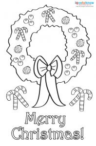 christmas card coloring pages # 14