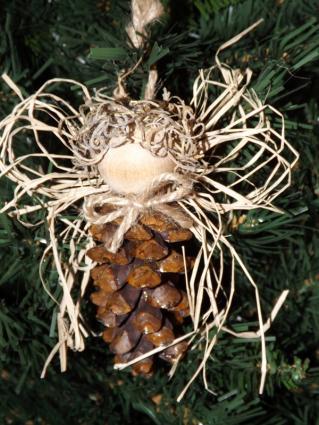 Pine Cone Christmas Tree Ornaments LoveToKnow