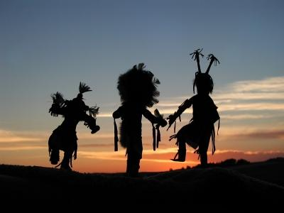 Hopi Kachina Dancers making Magic