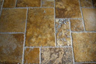 travertine tile lovetoknow
