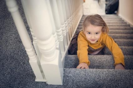 How To Choose The Best Carpet For Your Stairs Lovetoknow | Best Carpet For Bedrooms And Stairs | Living Room | Floor | Patterned Carpet | Beige | Choosing