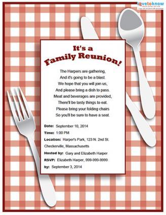 Reunion Invitation Templates. class reunion invitations amp class ...