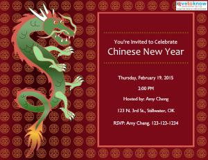 Chinese New Year Invitations LoveToKnow