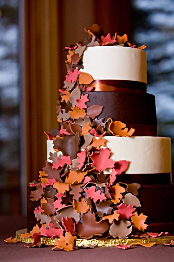 Autumn Themed Wedding Decorations