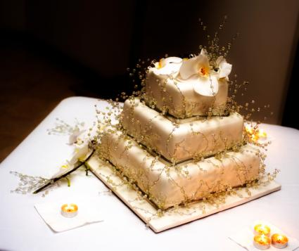 Ideas For Square Wedding Cakes