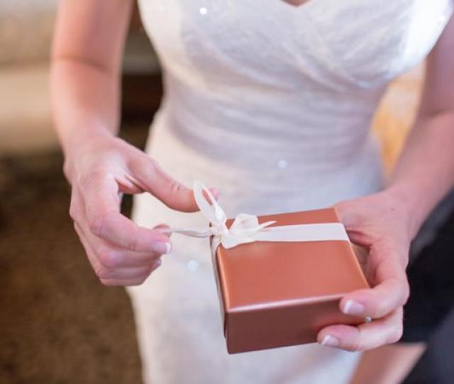 Bride Opening Gift