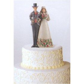 Christmas Themed Wedding Cake Topper Couple LoveToKnow