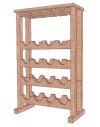 free wine rack plans