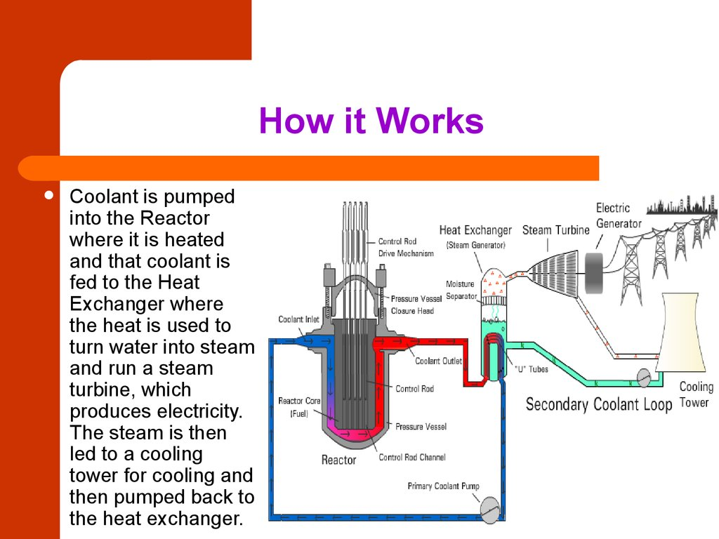 Nuclear Power Plant Diagram How It Work