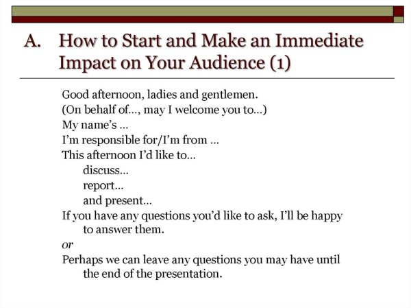 how to start a presentation # 10