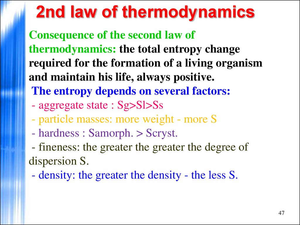 Thermodynamics Equations