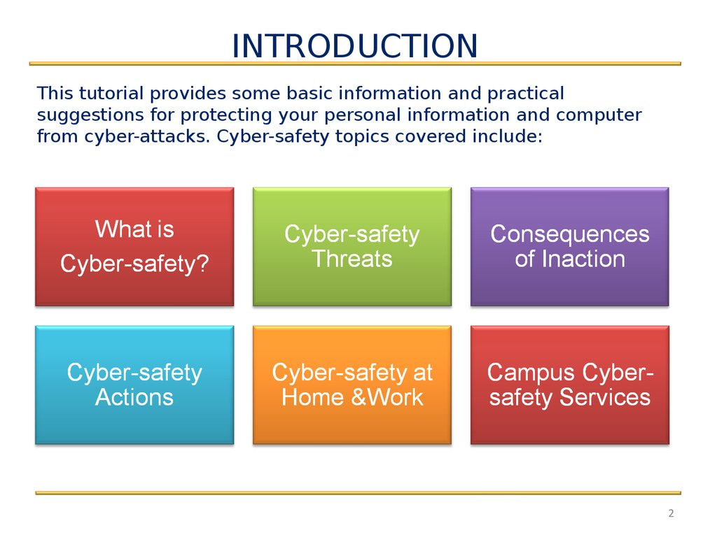 Information Security Updates