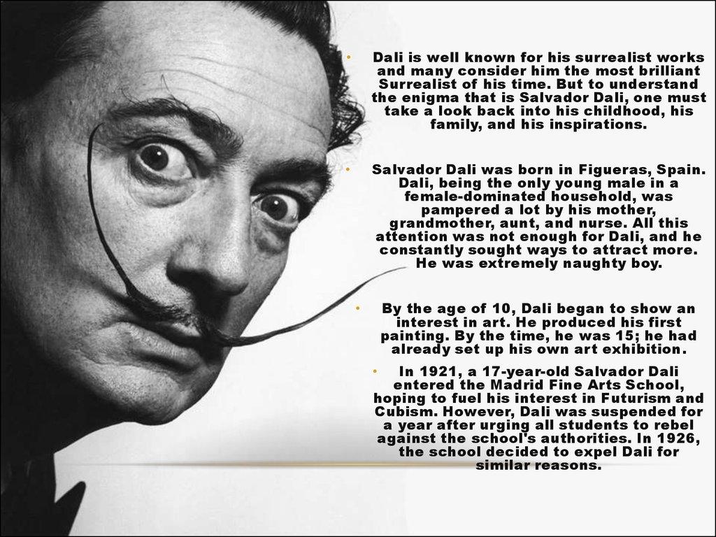 Surrealism Salvador Dali