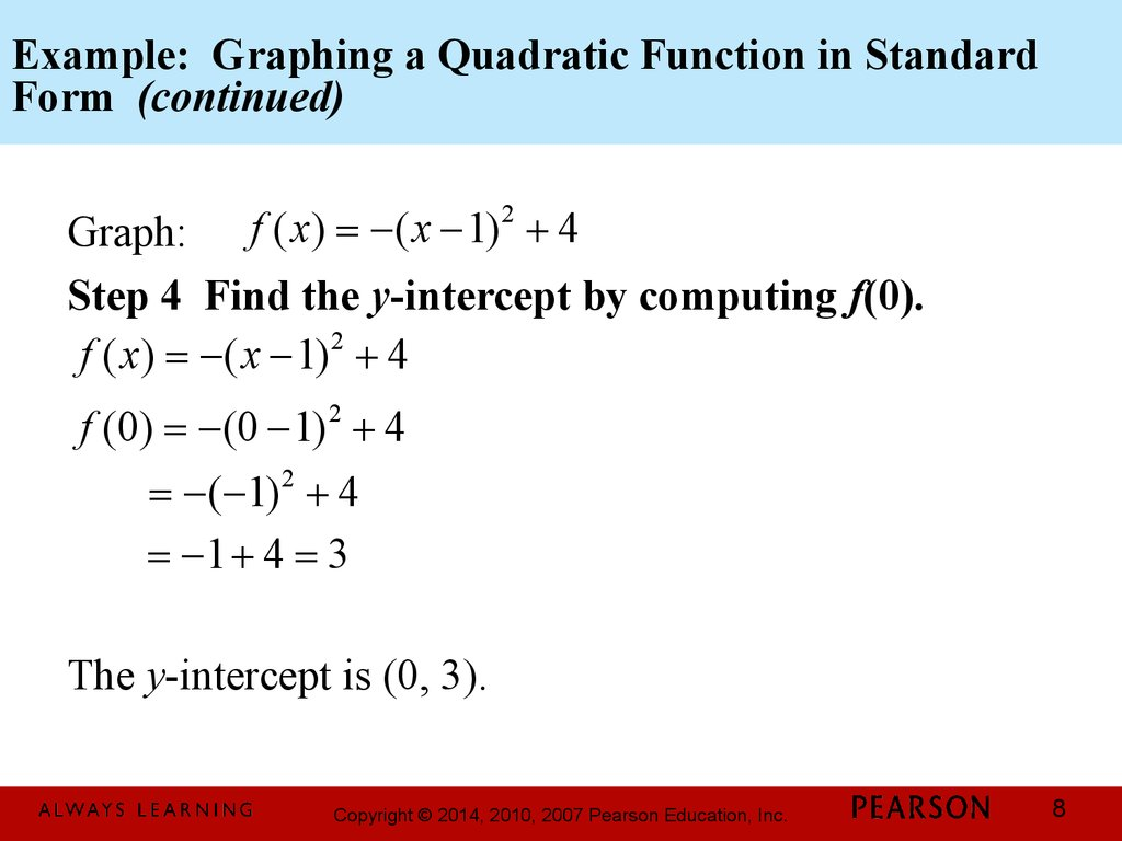 Chapter 3 Polynomial And Rational Functions 3 1