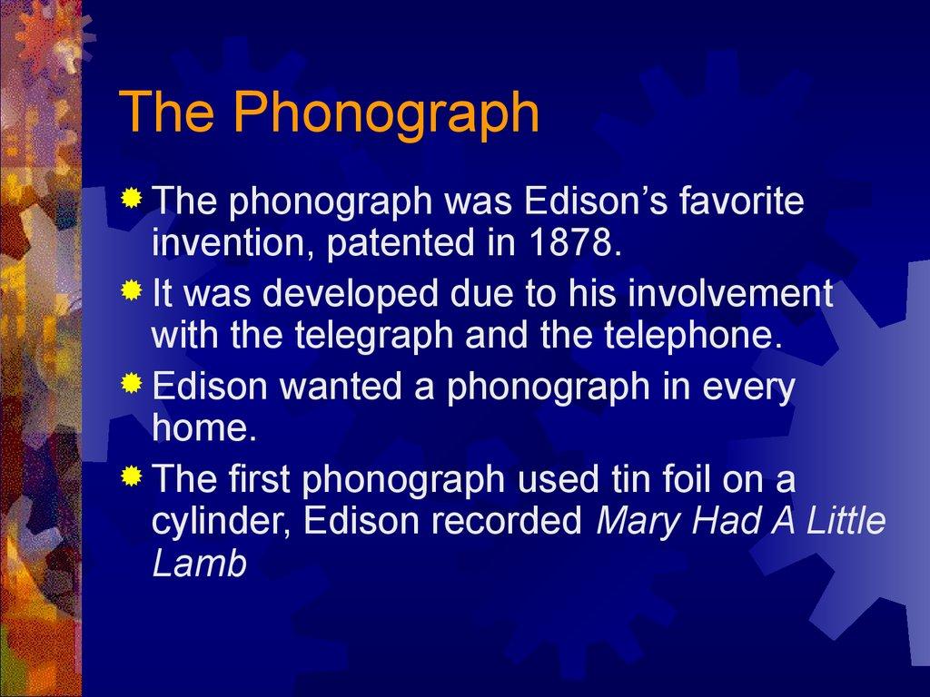 Thomas Edison Incandescent Light Bulb