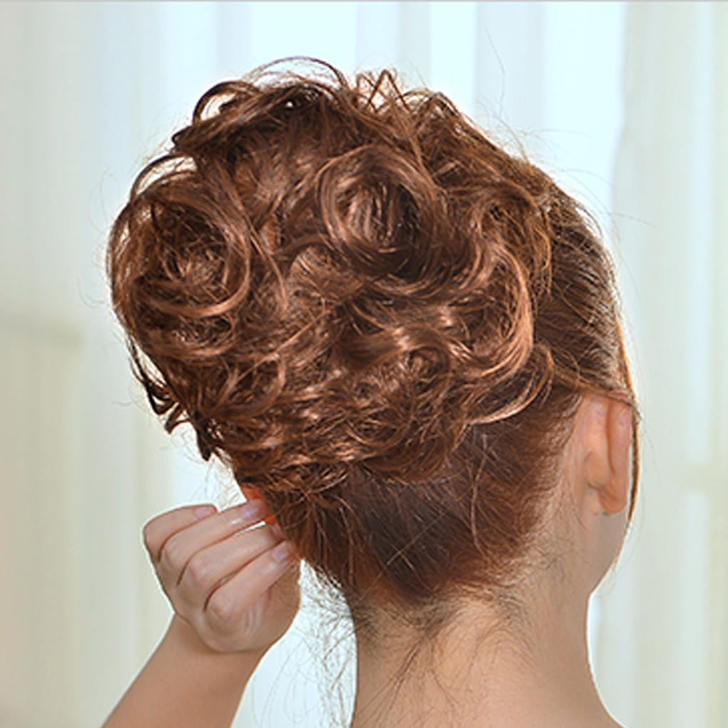Sambungan Rambut Palsu Model Sanggul Pengantin Wanita 613 Shopee