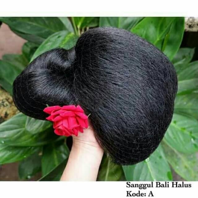 Sanggul Bali Original Tanpa Aksesoris Shopee Indonesia