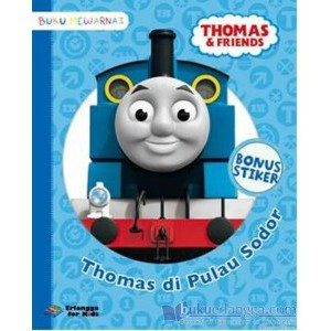 Erlangga For Kids - Thomas & Friends: Thomas di Pulau Sodor
