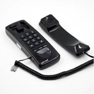Promo Telepon Sahitel S 21 Untuk Kantor Rumah Hitam Putih Gantung