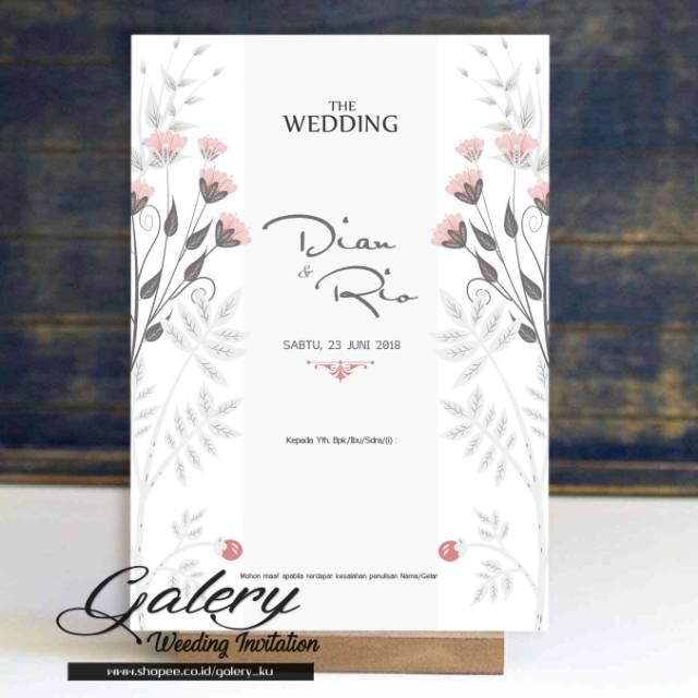 Undangan Pernikahan Temukan Harga Dan Penawaran Online Terbaik