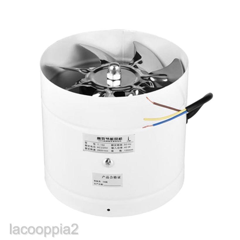 lacooppia2 inline ventilation exhaust fan 6 150mm 40w vent duct 6 inch extractor fan