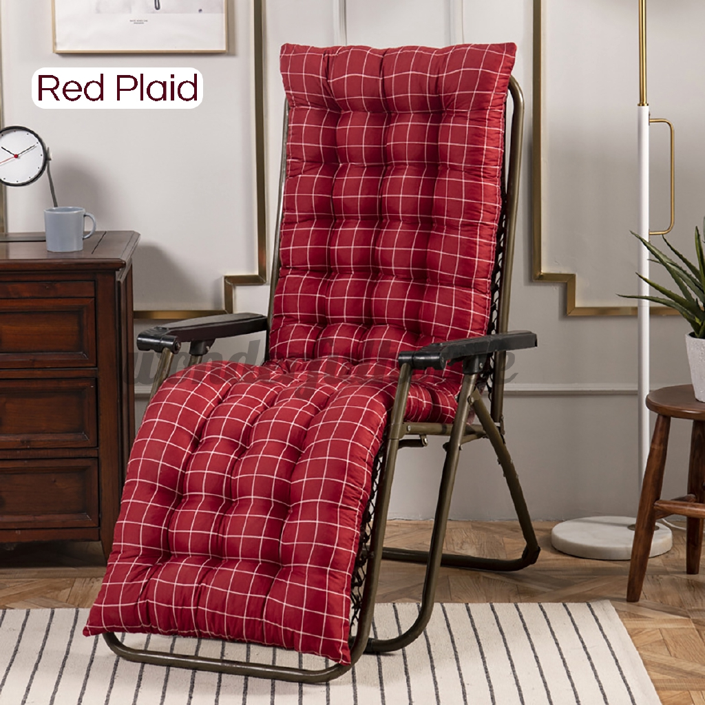 chair cushion recliner seat relaxer pad mat furniture garden outdoor indoor