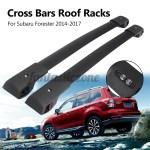 2 Pcs Um Par Car Auto Veiculo Bloqueio Telhado Rack Cross Bares Trilhos Set Kits Preto Shopee Brasil