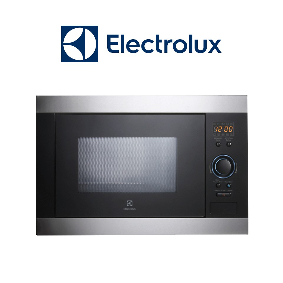 electrolux built in microwave oven 5 power levels 25l 900w ems2540x